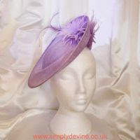 Soft Lilac Wedding Hatinator 1134